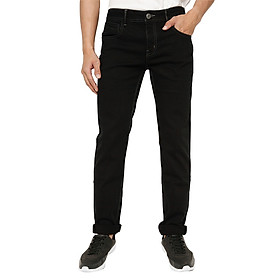 Quần Jeans Nam Cotton Slimfit Vĩnh Tiến SR174-1 - Đen