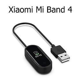 Dây Cáp Sạc Thay Thế Cho Vòng Đeo Tay Thông Minh Xiaomi Mi Band 4 20cm