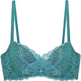 Áo nâng ngực Amazing Push-up Lace Bra Viviane AN041803-04 - Xanh