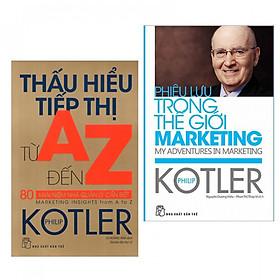Combo sách hay: Phiêu Lưu Trong Thế Giới Marketing + Thấu Hiểu Tiếp Thị Từ A Đến Z - 80 Khái Niệm Nhà Quản Lý Cần Biết (tặng kèm bookmark PĐ)