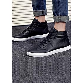 Giày nam bata viền chỉ cổ cao SM014