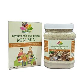 Bột  Ngũ Cốc Lợi Sữa  Min Min 500G  Từ 18 Loại Hạt