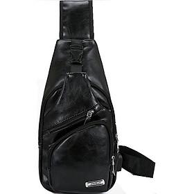 Túi đeo chéo da nam [HÀNG NHẬP] DTN12-1TI