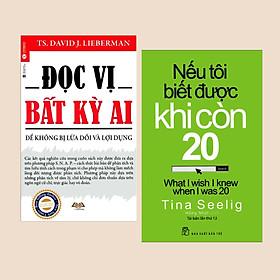 Combo Sách Kỹ Nắng Sống: Nếu Tôi Biết Được Khi Còn 20 (Tái Bản) + Đọc Vị Bất Kỳ Ai (Tái Bản) - (Sách Tuổi Trẻ / Thấu Hiểu Tâm Lý)
