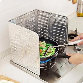 Dụng cụ chắn bếp chống dầu mỡ