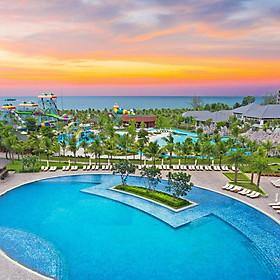 Vinpearl VinOasis Resort 5* Phú Quốc - Gói 03 Bữa Buffet, Vui Chơi VinWonders & Vườn Thú Mở Vinpearl Safari, Công Viên Nước, Hồ Bơi, Đón Tiễn Sân Bay