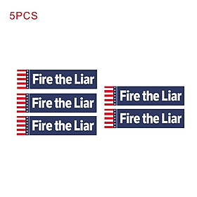 "Bumper Sticker Decal Car Body Sticker Anti-Trump -""Fire the Liar"" Bumper Sticker for President 2020 Decal United States"