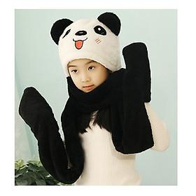 Mũ nỉ lông  hình gấu siêu cute đáng yêu cho các bạn nhỏ