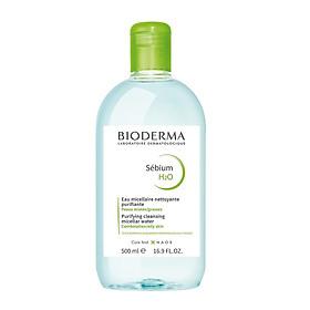 Nước tẩy trang dành cho da dầu, da mụn BIODERMA Sébium H2O 500ml