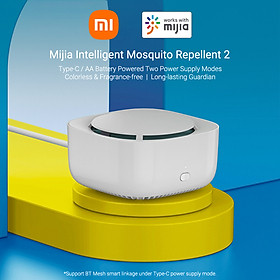 Máy đuổi muỗi thông minh điều khiển thông minh kiểm tra dung lượng pin bằng BT Xiaomi Mijia Intelligent Mosquito Repellent 2