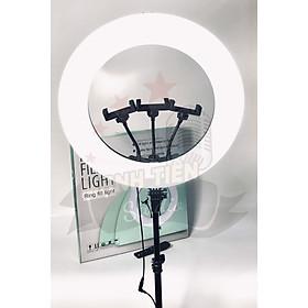 Đèn livestream 45cm XK 818A - đèn livestream 3 kẹp điện thoại, chân cao 2.1m, 3 chế độ sáng, có REMOTE - Đèn livestream chuyên nghiệp, Đèn Led Trợ Sáng, Chiếu Sáng Studio, Makeup, Quay Phim, Chụp Ảnh, Livetream, Selfie, Xăm nghệ thuật