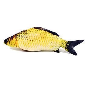 Cá nhồi bông cho mèo hình cá chép