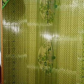 Chiếu trúc in hoa Cao Bằng  họa tiết ngẫu nhiên