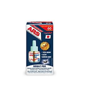 Chai dung dịch xông xua đuổi muỗi điện ARS Nomat P60 (refill/ dùng để lắp vào máy xông đuổi muỗi điện ARS Nomat P60) - Thương hiệu số 1 Nhật Bản