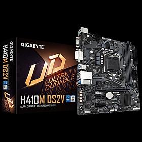 Bo Mạch Chủ Mainboard GIGABYTE H410M DS2V LGA 1200 cho Intel Gen 10 Comet Lake - Hàng Chính Hãng