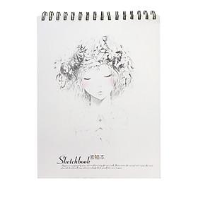 Sổ Ký Hoạ Gáy Lò Xo Cao Cấp A4 Sketchbook ( Sổ Vẽ)