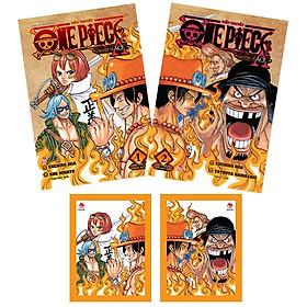 Bộ Sách Tiểu Thuyết One Piece: Chuyện Về Ace (Tập 1 + Tập 2) - Tặng Kèm 2 Tấm Card Metalize