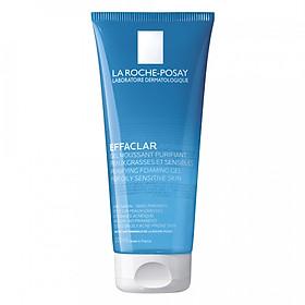Gel rửa mặt tạo bọt làm sạch & giảm nhờn cho da dầu nhạy cảm La Roche-Posay Effaclar Purifying Foaming Gel (200ml)