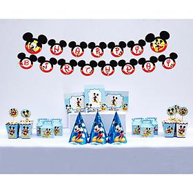 Set đồ phụ kiện sinh nhật Mickey