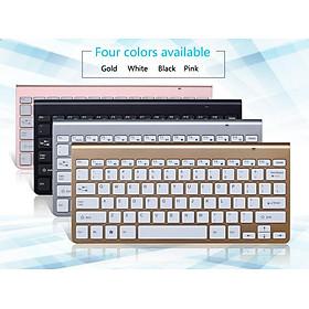 2.4G Wireless Keyboard Mouse Set Mini Multimedia Keyboard Mouse Combo Set for Notebook Laptop Mac Desktop PC
