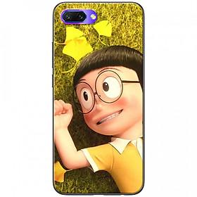Ốp lưng dành cho Honor 10 mẫu Nobita thảm cỏ
