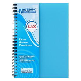 Sổ Lò Xo A5 Bìa Nhựa 240 Trang Lax (Màu Ngẫu Nhiên)