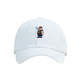 Nón Ballcap Hàn Quốc Weedbear PREMIER P933 - Trắng