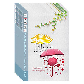 Lốc 5 Cuốn Tập Sinh Viên 200 Trang ĐL 80 - Chào Buổi Sáng May Mắn (Giao Mẫu Ngẫu Nhiên)