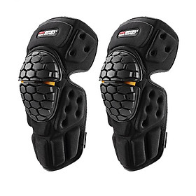 Motorcycle Knee Pads Comfortable Soft Drop-proof Wear-resistant Knee Pads Two-pieces