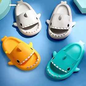 Dép lê trẻ em Mario Cá Mập Baby Shark siêu mềm đáng yêu chống trơn trượt cho bé từ 1-5 tuổi