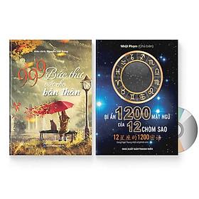 Combo 2 sách: 999 bức thư viết cho tương lai + Bí Ẩn 1200 Mật Ngữ Của 12 Chòm Sao (Song Ngữ Trung Việt Có Phiên Âm) + DVD quà tặng