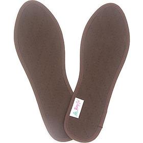 Lót giày quế vải cotton CI-04 hút ẩm, khử mùi hôi chân, cải thiện sức khỏe