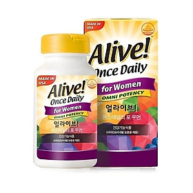 ALIVE Once Dailly For Women 60t