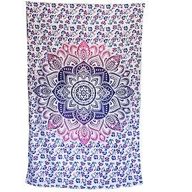 Khăn trang trí Mandalain 100% cotton 140cm x 220cm  T06