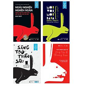 """Combo 4 Sách Cạnh Tranh Bằng Sáng Tạo: """"Ngấu Nghiền Nghiền Ngẫm""""+""""Sáng tạo thần sầu""""+""""Một với Một là Ba""""+""""Dave Trott bàn về sáng tạo & thương hiệu"""""""