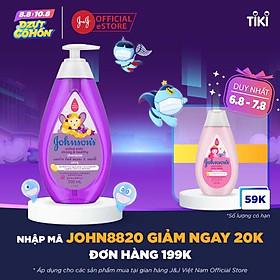 Dầu Gội Giúp Tóc Chắc Khỏe Cho Bé Gái Johnson's Active Kids Strong & Healthy Shampoo 500ml