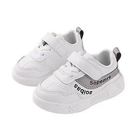 Giày tập đi cho bé trai bé gái 6 - 18 tháng quai dán tiện dụng TD35