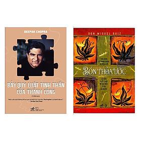 Combo 2 Cuốn Sách Kỹ Năng Sống Hay : Bốn Thỏa Ước  + Bảy Quy Luật Tinh Thần Của Thành Công [Kỹ năng sống luật hấp dẫn / Tư duy thành công] (Tặng kèm Bookmark Happy Life )