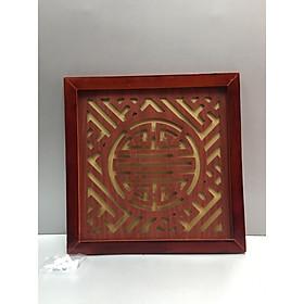 Tấm chống ám khói chữ Thọ  ( trang trí trên ban thờ treo tường)