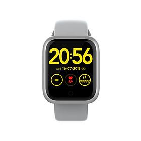 GT1 Smart Sport Band Fitness Tracker Bracelet Smart Watch Heart Rate Monitor Wristband Color Screen Waterproof Blood