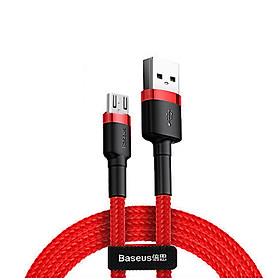 Cáp sạc nhanh Cafule Micro USB Quick Charge  - Cáp sạc Baseus siêu bền -Hàng Chính Hãng