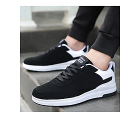 Giày thể thao phối trắng-đen Haint Boutique 141-4
