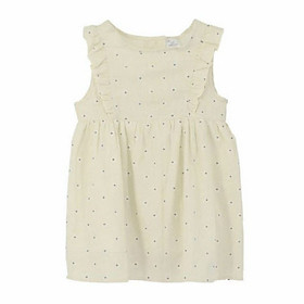 Váy Thô Bé Gái Hoa Nhí Ardilla 13GS18 - Kem