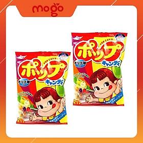 Combo 2 gói Kẹo mút Fujiya vị Trái cây (21 cây)