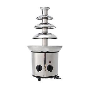 220V Chocolate Fountain Chocolate Waterfall Melting Machine Stainless Steel