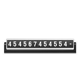Car Temporary Parking Phone Numbers Sign Luminous Move Car Numbers Plate