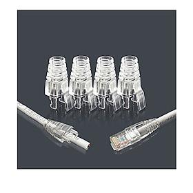 Đầu chụp hạt mạng bằng nhựa Plug boot ( 10 cái) - Hàng nhập khẩu