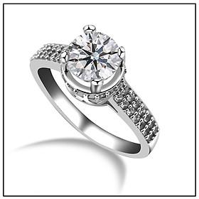 Nhẫn đính đá thanh lịch nhẹ nhàng - sự lựa chọn hoàn hảo của phái đẹp