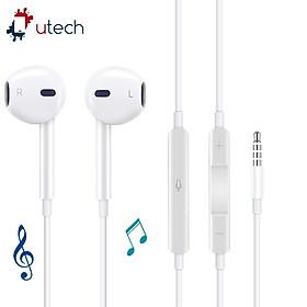 Tai Nghe Cho iPhone cổng 3.5mm U-Tech Super Bass UT01 - Hàng Chính Hãng
