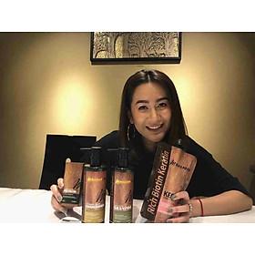 Bộ dầu gội xả phục hồi siêu mượt tóc Masaroni Rich Biotin Collagen repair Shampoo & Conditioner 800ml-3